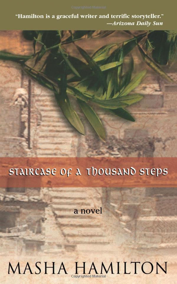 The Staircase of a Thousand Steps by Masha Hamilton cover